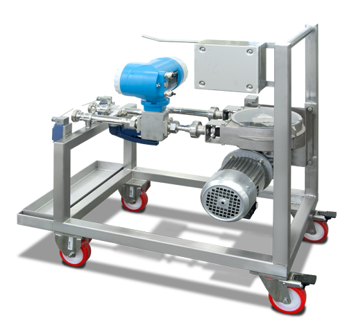 Dosing pumps wheeled