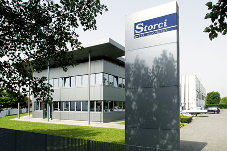Current headquarters of Storci S.p.A.